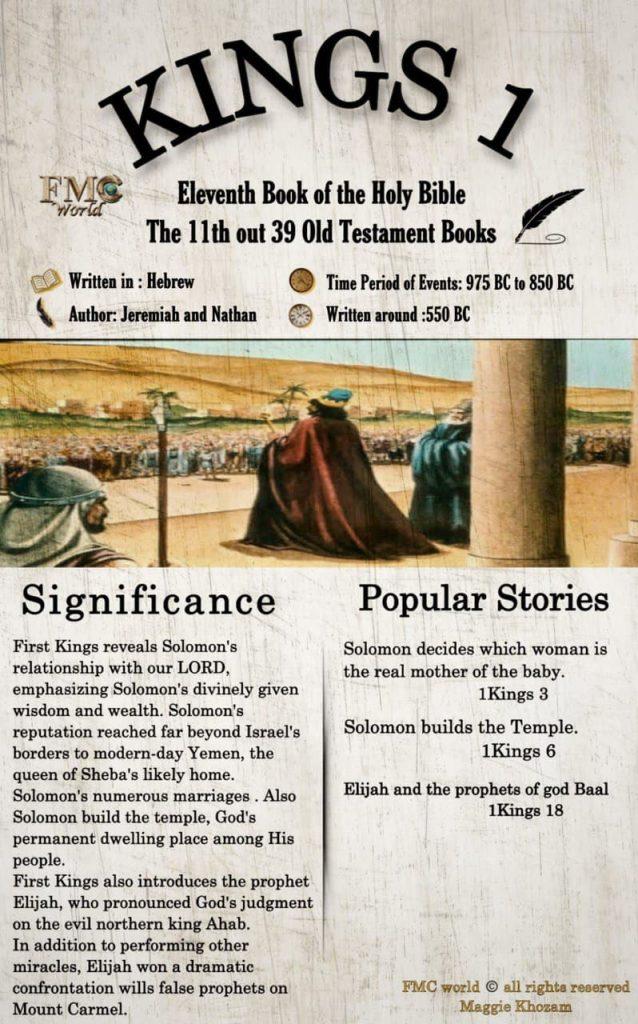 FMC World / Bible / Kings 1