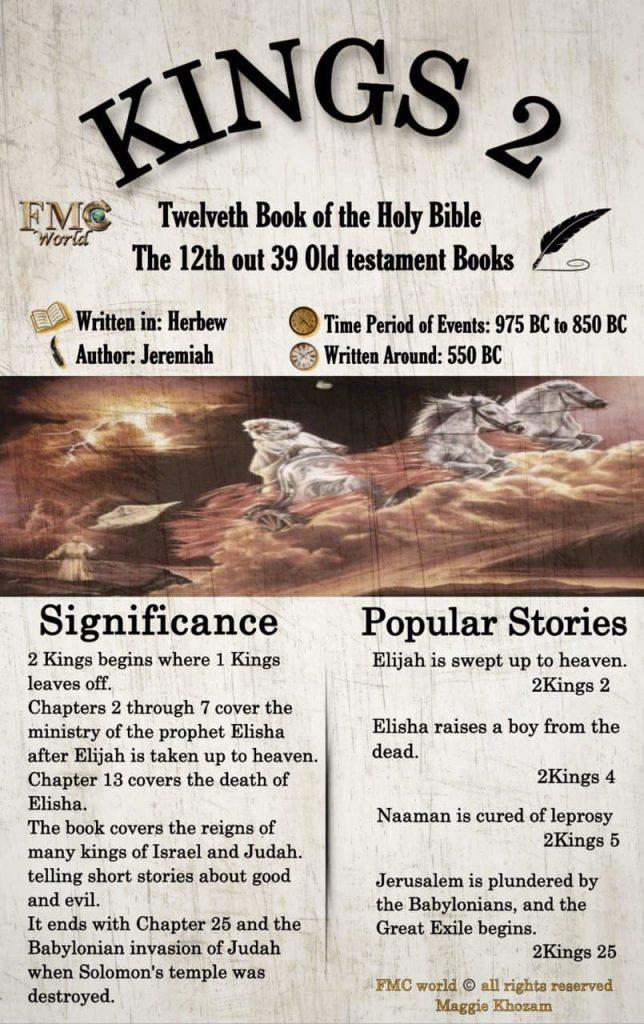 FMC World / Bible / Kings 2