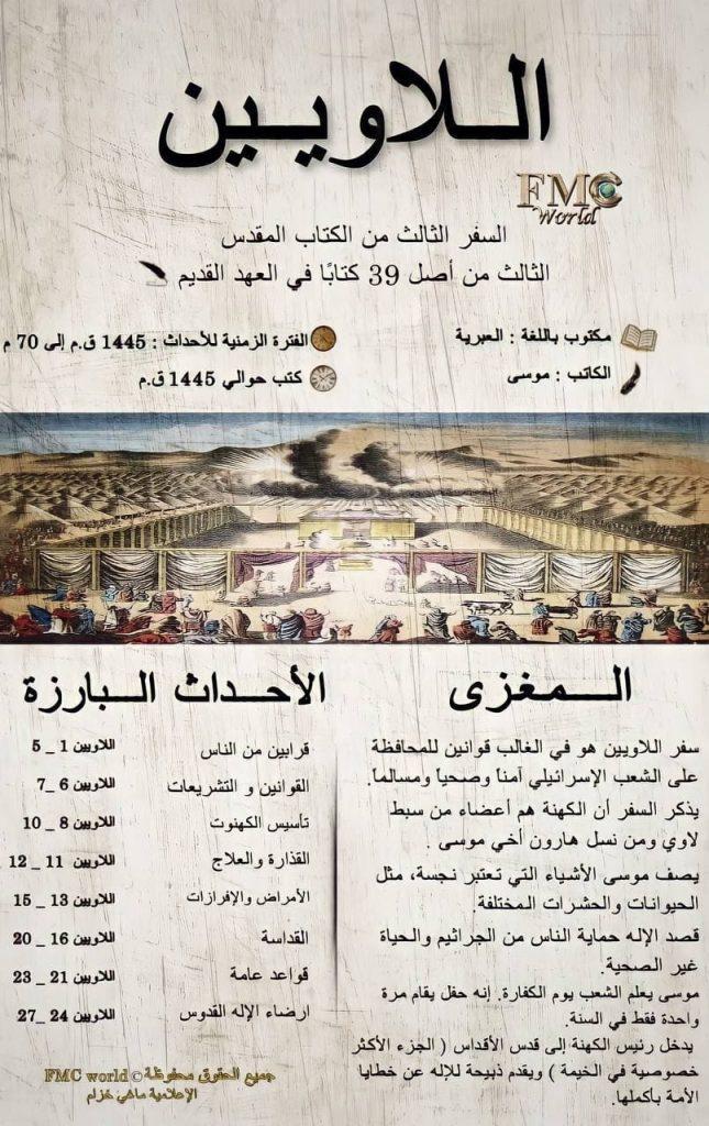 الكتاب المقدس / العهد القديم / اللاويين