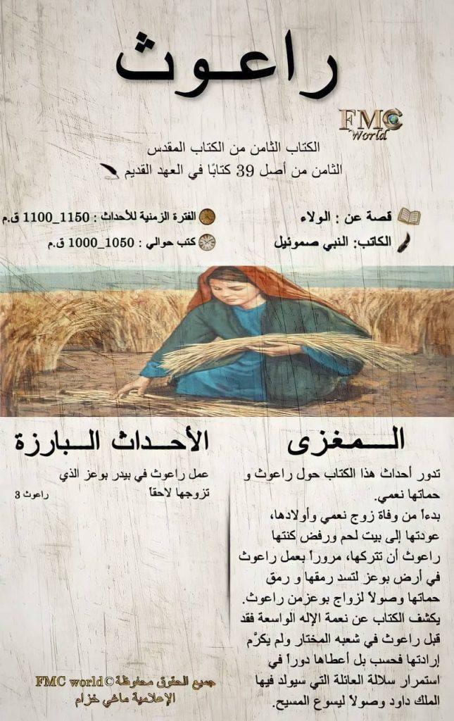 الكتاب المقدس / العهد القديم / راعوث