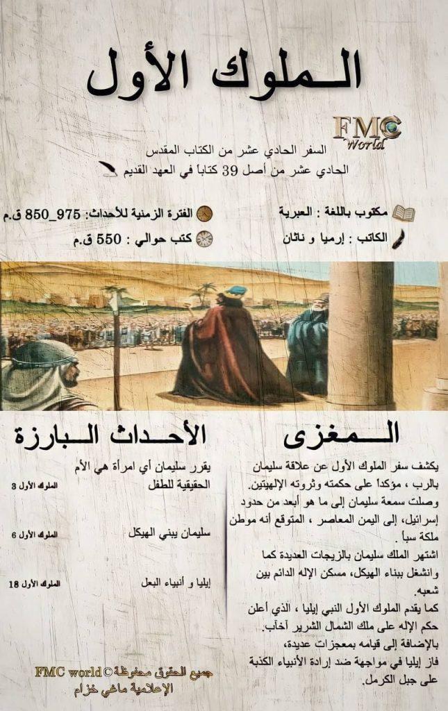 الكتاب المقدس / العهد القديم / الملوك 1