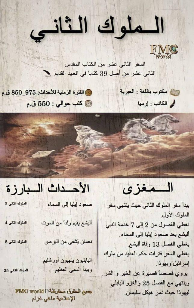 الكتاب المقدس / العهد القديم / الملوك 2