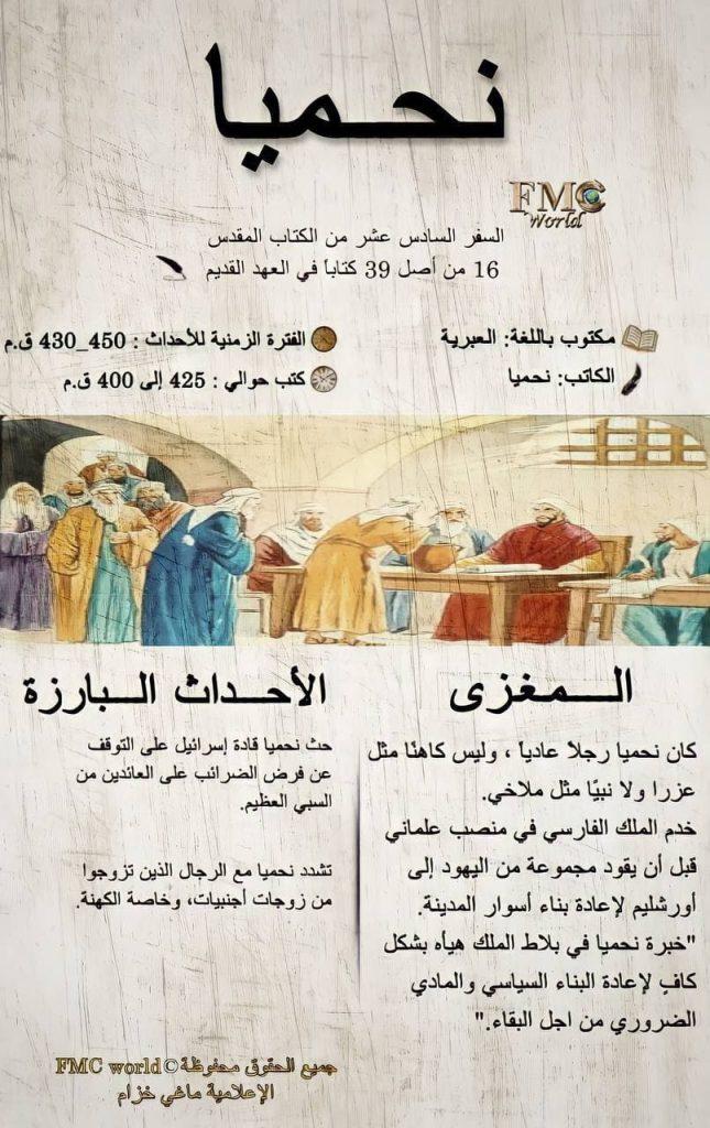 الكتاب المقدس / العهد القديم / نحميا