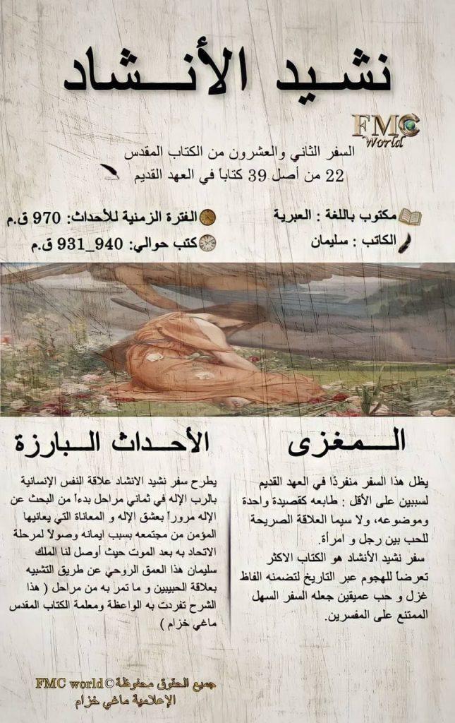 الكتاب المقدس / العهد القديم / نشيد الأنشاد