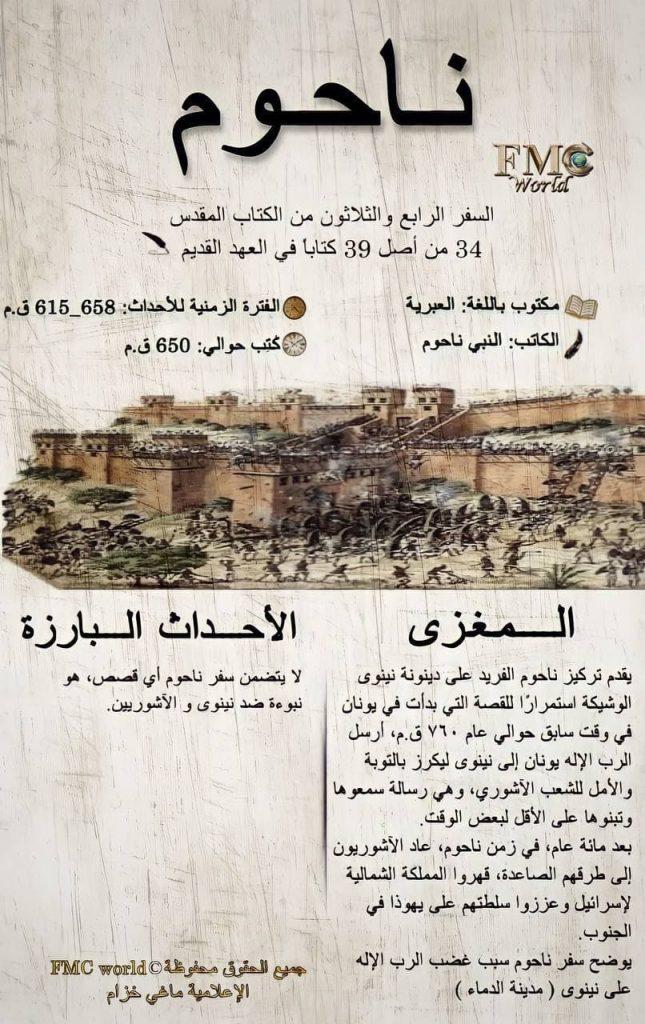 الكتاب المقدس / العهد القديم / ناحوم
