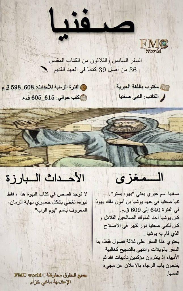 الكتاب المقدس / العهد القديم / صفنيا