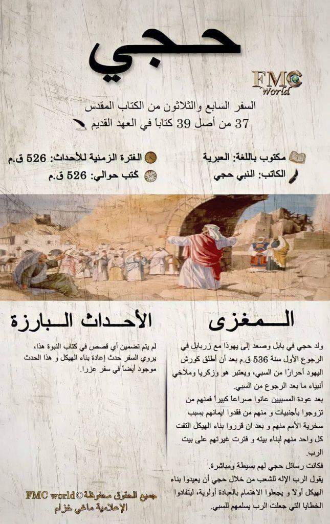 الكتاب المقدس / العهد القديم / حجي