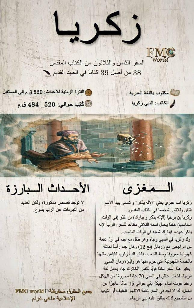 الكتاب المقدس / العهد القديم / زكريا