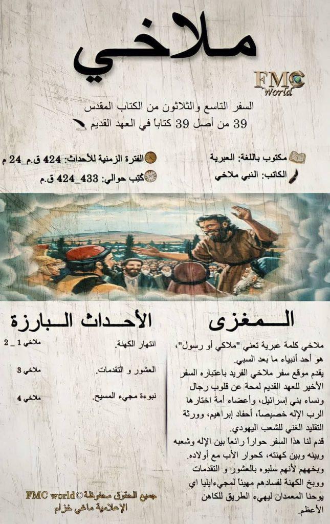 الكتاب المقدس / العهد القديم / ملاخي