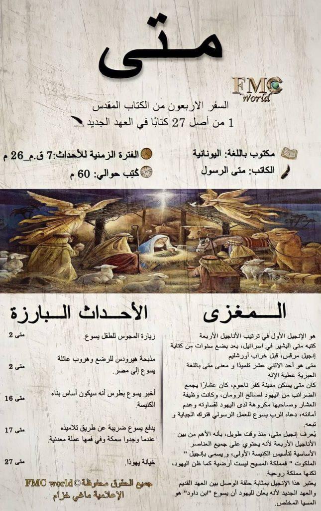 الكتاب المقدس / العهد الجديد / متى