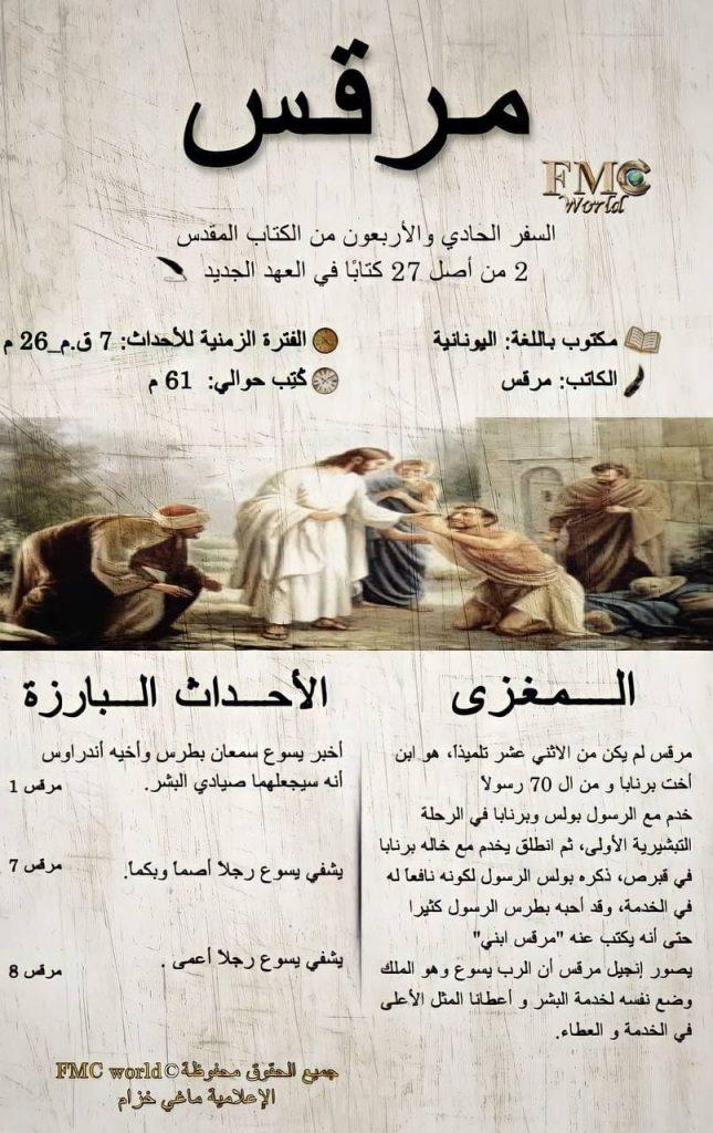 الكتاب المقدس / العهد الجديد / مرقس