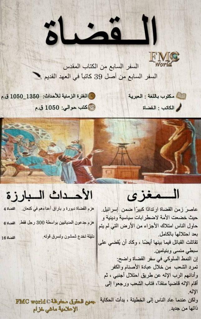 الكتاب المقدس / العهد القديم / القضاة