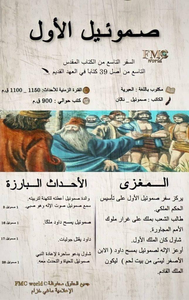 الكتاب المقدس / العهد القديم / صموئيل الأول
