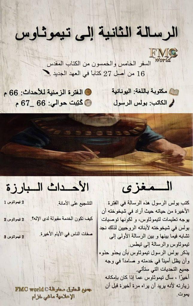 الكتاب المقدس / العهد الجديد / رسالة تيموثاوس 2