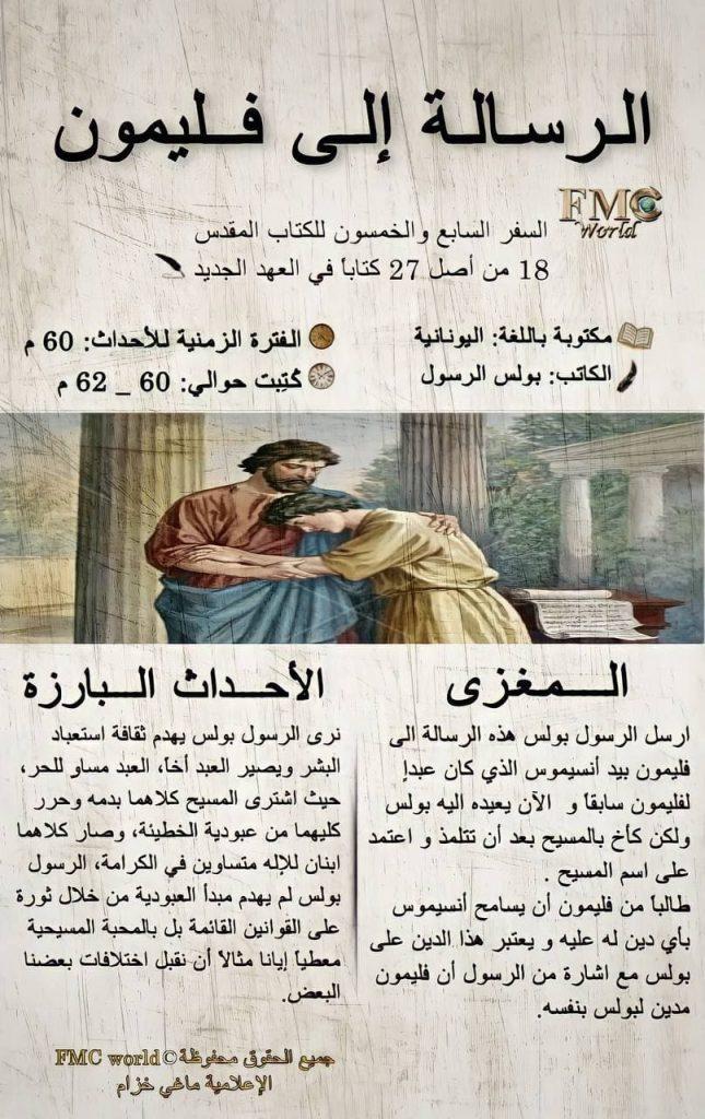 الكتاب المقدس / العهد الجديد / رسالة فليمون