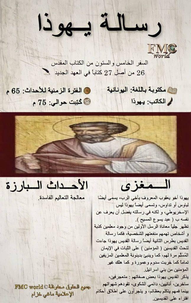 الكتاب المقدس / العهد الجديد / رسالة يهوذا