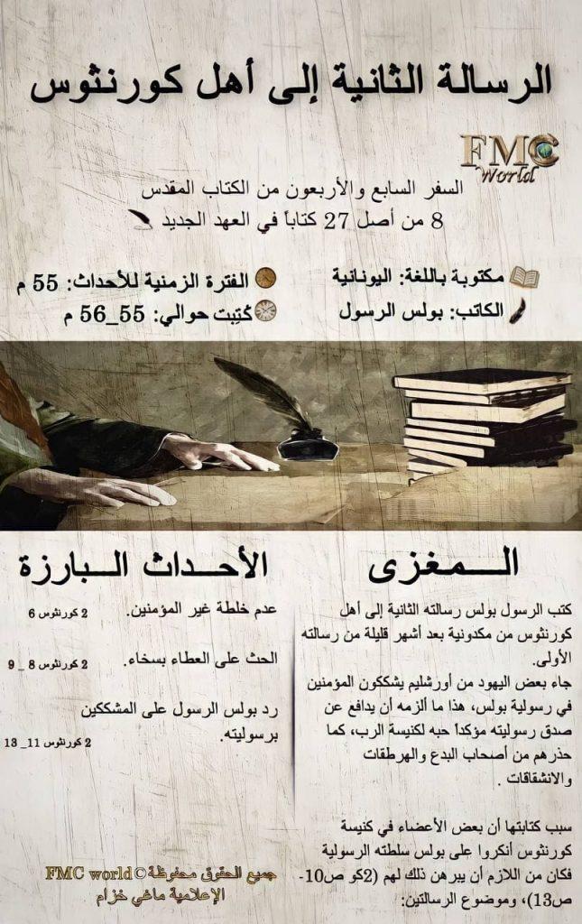 الكتاب المقدس / العهد الجديد / رسالة كورنثوس 2