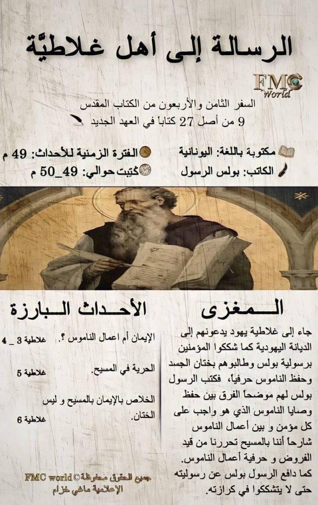 الكتاب المقدس / العهد الجديد / رسالة غلاطية